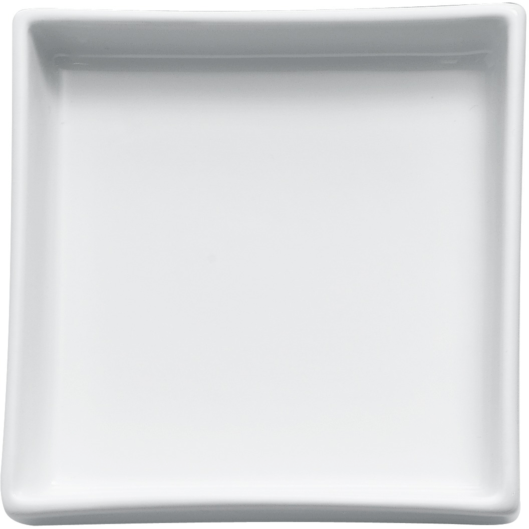 DWBA Countertop Soap Dish/Soap Saver Holder Tray, Porcelain White