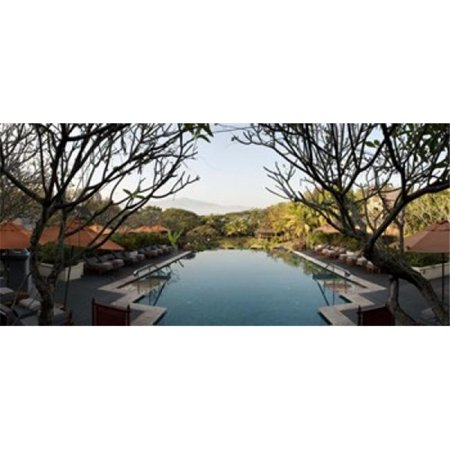 Panoramic Images PPI126547L Infinity pool in a hotel  Four Seasons Resort  Chiang Mai  Chiang Mai Province  Thailand Poster Print by Panoramic Images - 36 x 12 - image 1 of 1