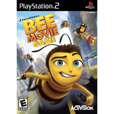 Ps2 Games Dvd - Bee Movie PS2