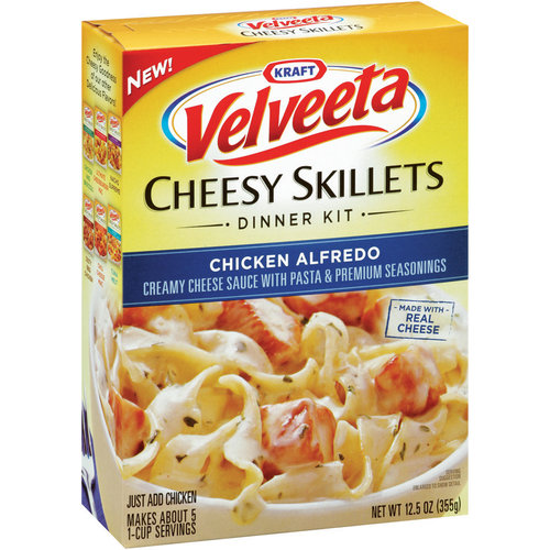 Kraft Dinners Chicken Alfredo Velveeta Cheesy Skillets, 12.5 oz