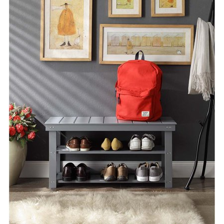 Mudroom Bench - Convenience Concepts Oxford Utility Mudroom Bench, Mutliple Colors