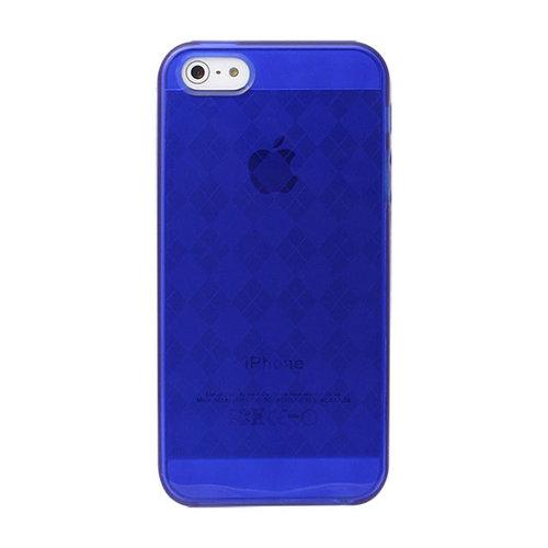 Versio Mobile VM-20200 iPhone 5/5S Pattern Flexiglas Blue