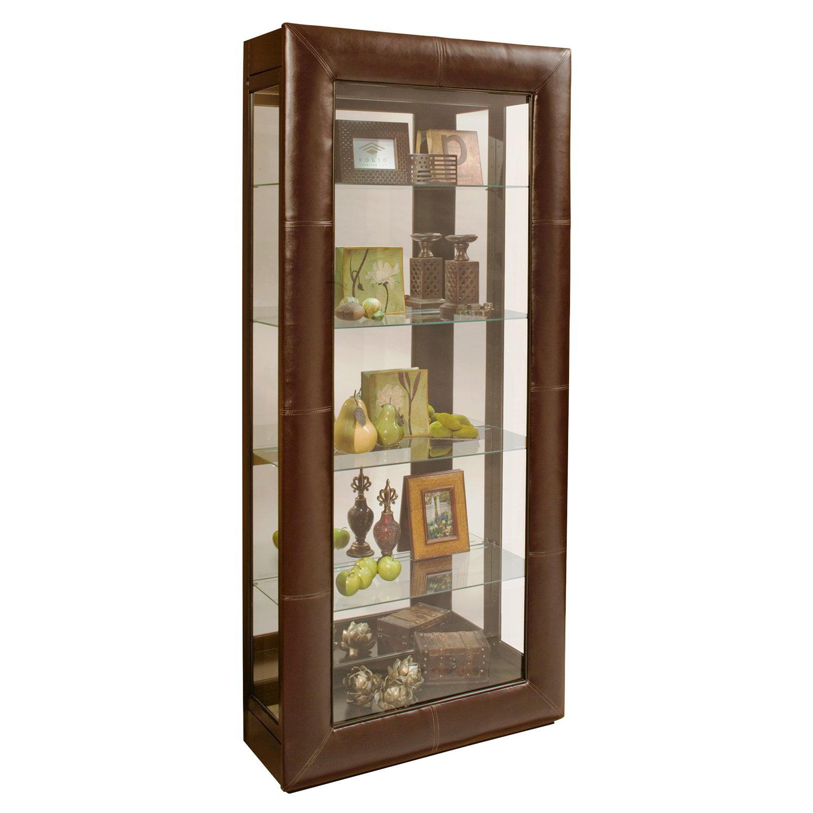 Philip Reinisch Company Folio Alamance Accent Curio Cabinet
