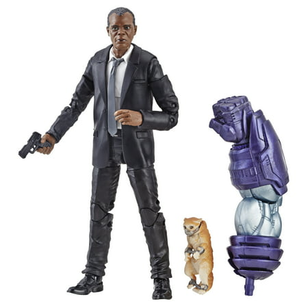 Marvel 6 -inch Legends Captain Marvel Nick Fury Figure for Collectors