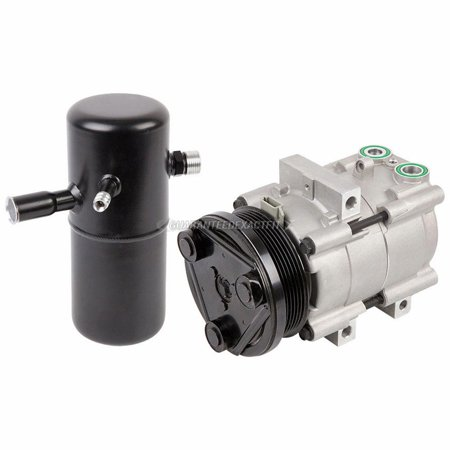 AC Compressor w/ A/C Drier For Ford Crown Victoria Lincoln Town Car 1994-1997