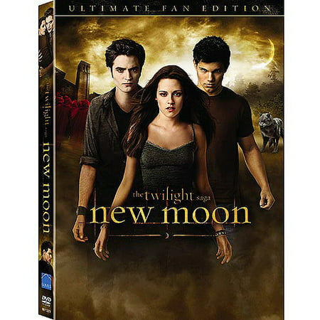 The Twilight Saga: New Moon (The Ultimate Fan Edition w/ Bonus Footage To Twilight Saga: Eclipse) (Wal-Mart Exclusive) (Widescreen, WALMART EXCLUSIVE)