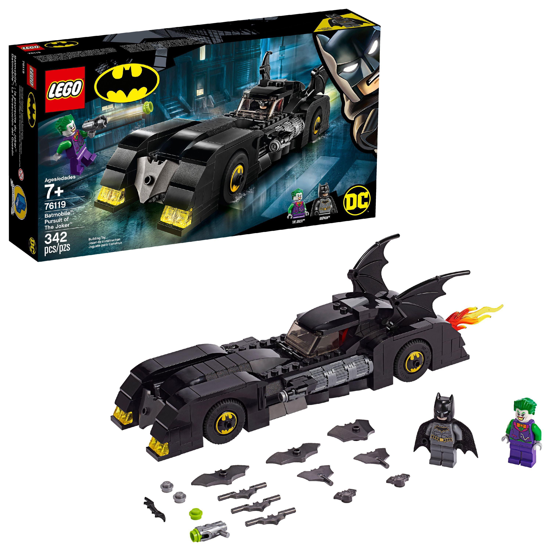 LEGO DC Comics Batmobile: Pursuit of The Joker 76119 Superhero Building Set
