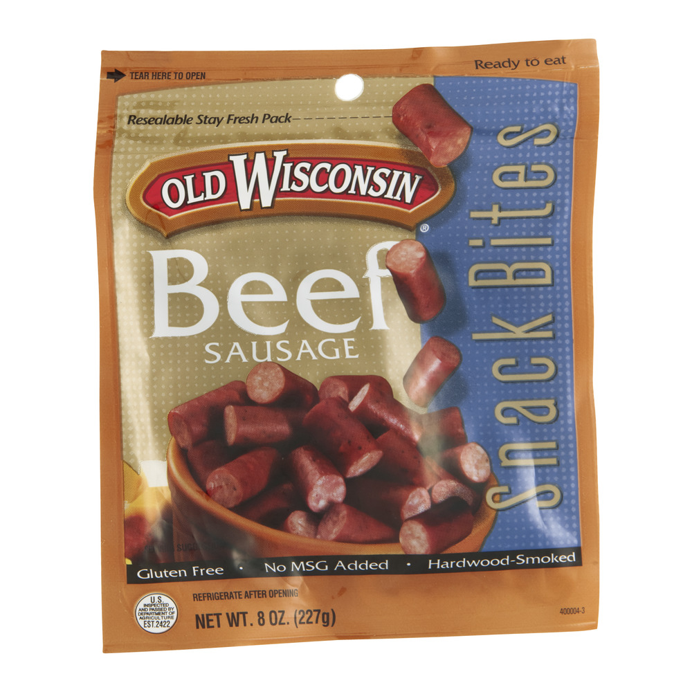 Old Wisconsin Food Products Old Wisconsin  Snack Bites, 8 oz