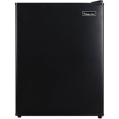 Magic Chef 2.4 Cu Ft Mini All-Refrigerator MCAR240B2, Black (24 Refrigerator Bottom Freezer)