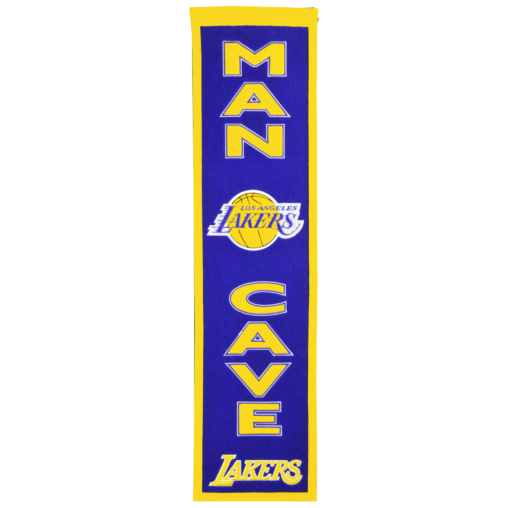 "Los Angeles Lakers 8"" x 32"" Man Cave Banner - No Size"
