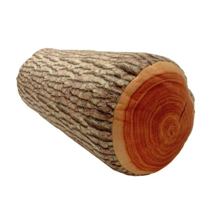 3D Tree Realistic Wood Pile Log Soft Cushion Pillow Stuffed Plush Toy Doll Seat Pad Home Décor