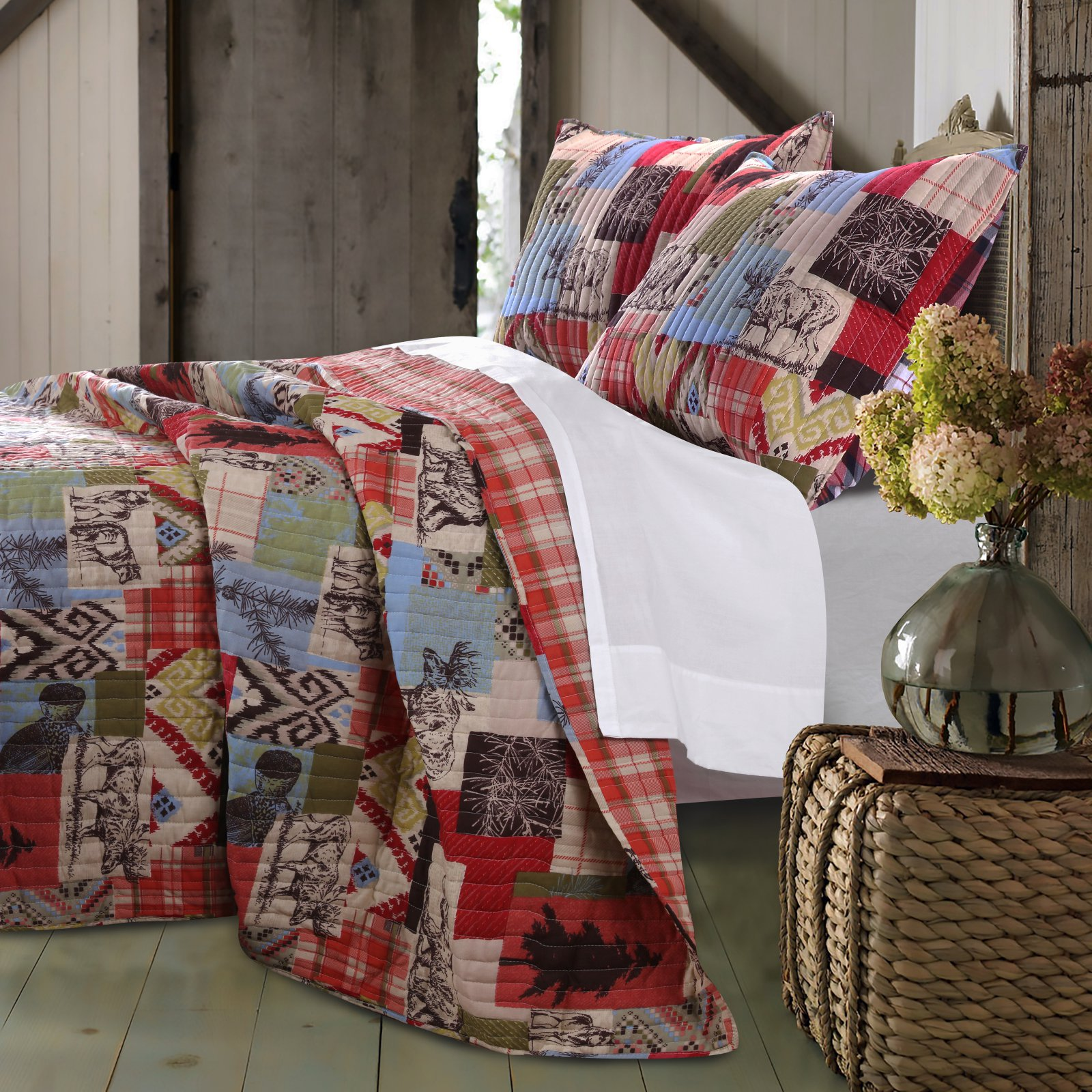 Rustic Lodge Quilt Set by Greenland Home Fashions by Greenland Home Fashions