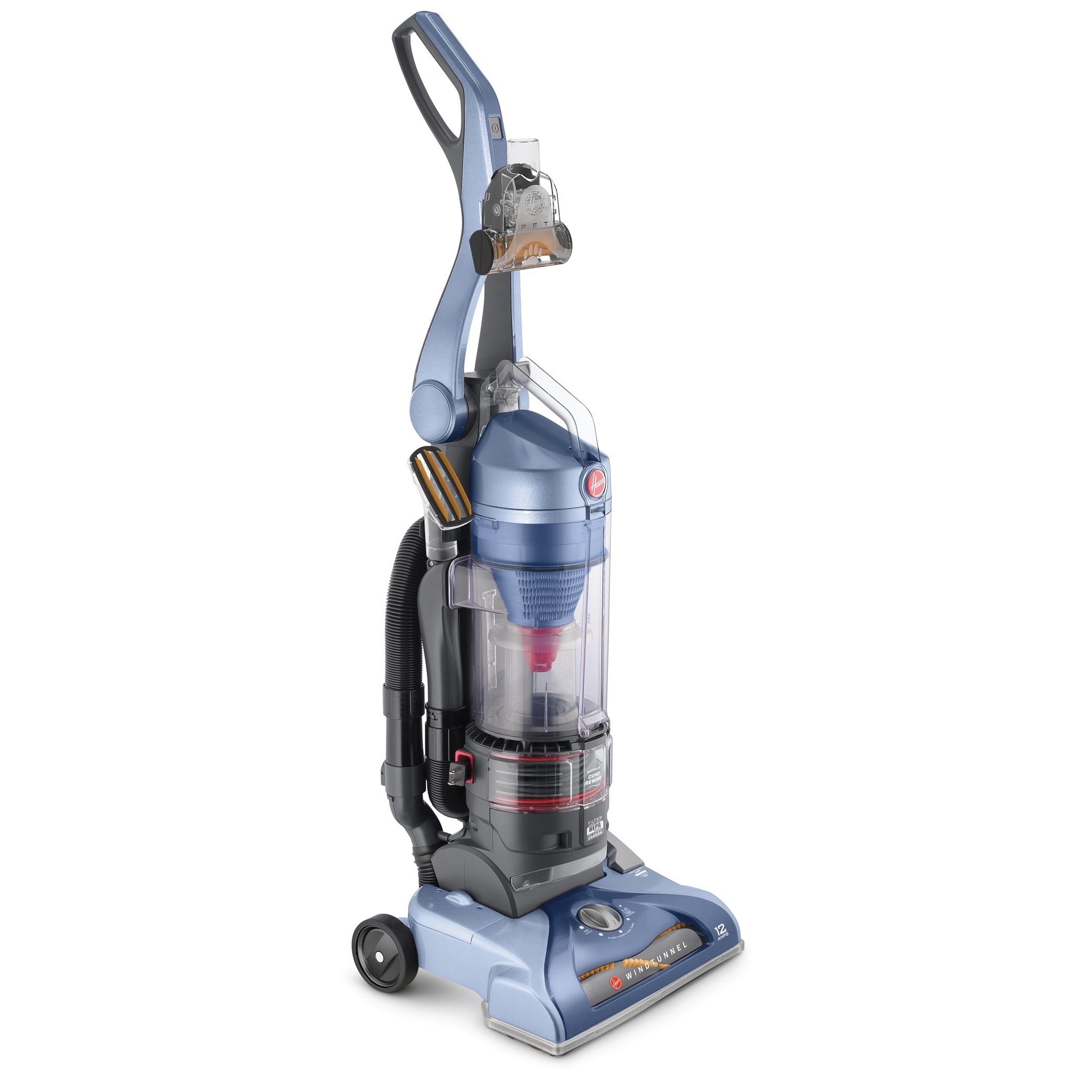 Hoover WindTunnel Pet Rewind Bagless Upright Vacuum, UH70210 - Walmart.com