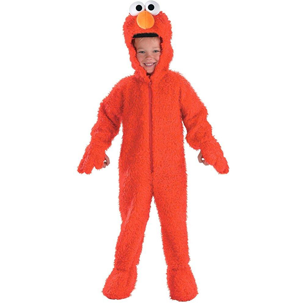 Elmo Deluxe Plush Costume Toddler Small by