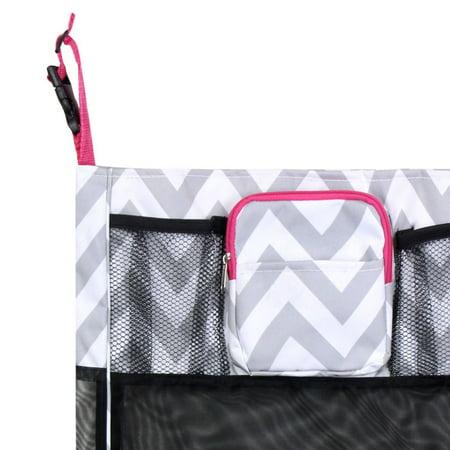 Zodaca Baby Cart Strollers Bag Buggy Pushchair Organizer Basket Storage Bag for Walk Shopping - Gray/Black Anchors - image 1 de 4