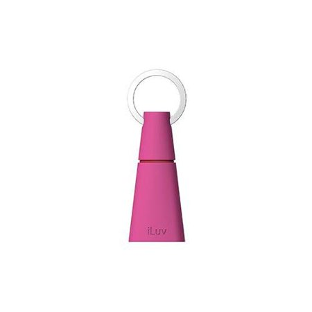 iLuv IDK10PNK Keylink USB On-The Go Adapter for Android Smartphones - 1 Pack - Retail Packaging - Pink