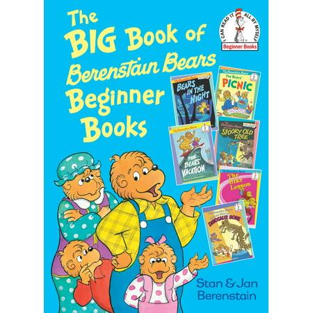 The Big Book of Berenstain Bears Beginner Books (Hardcover) (The Three Bears Halloween Book)