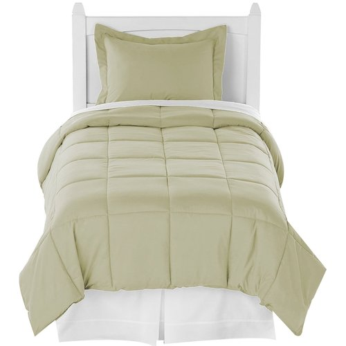 Bare Home Premium Ultra Soft Down Alternative 2 Piece Twin XL Comforter Set