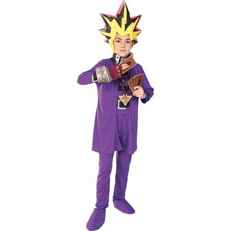 Morris costumes RU38837SM Yu Gi Oh Deluxe Child Small - Yu Gi Oh Halloween Costumes