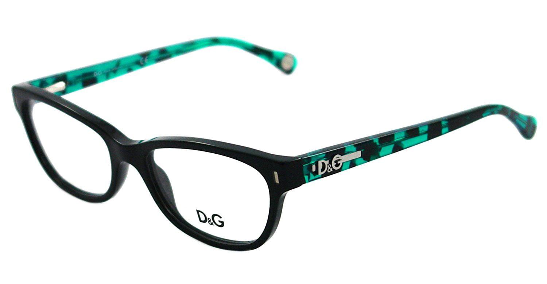 95742481ac DOLCE GABBANA D G Eyeglasses DD 1205 BLACK 1826 DD1205 - Walmart.com