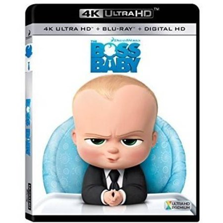 The Boss Baby  4K Ultra Hd   Blu Ray