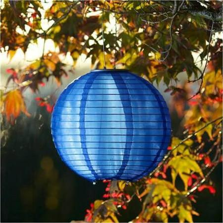 UPC 035286315845 product image for Allsop Home & Garden 31584 Glow Solar Lantern, Blue | upcitemdb.com