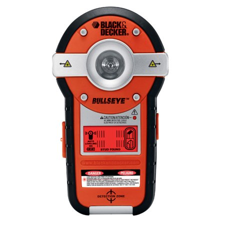 BLACK+DECKER BDL190S BullsEye Auto-Leveling Laser with Stud (Black & Decker Laser Level)