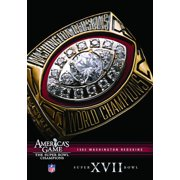 NFL America's Game: 1982 Redskins (Super Bowl Xvii by Allied Vaughn