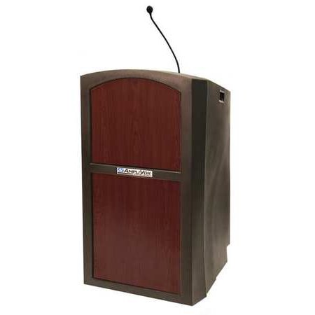 AmpliVox Pinnacle Multimedia Lectern with (Amplivox Tabletop Lectern)