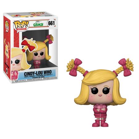 Funko Pop! Movies - The Grinch Movie: Cindy-Lou - Grinch Head