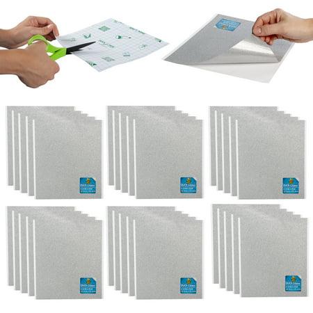 Gold Glitter Tape (Duck (30 Pack) Glitter Tape Sheets Art Supplies Craft Supplies Cut DIY Stickers For Home)
