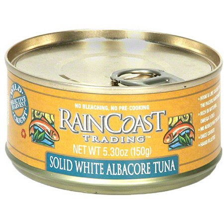 Raincoast trading solid white albacore tuna oz pack for Whiting fish at walmart