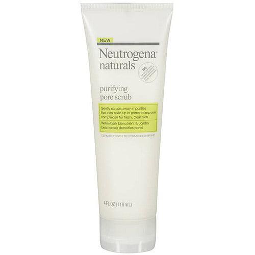 Neutrogena Naturals Purifying Pore Scrub, 4 oz