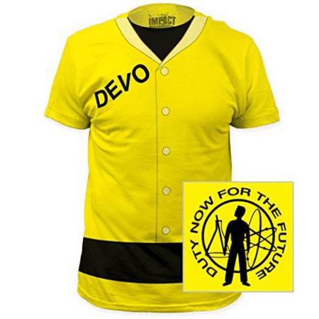 Devo Duty Now For The Future Yellow Suit T-Shirt Costume Jumpsuit Album Band - Devo Costume