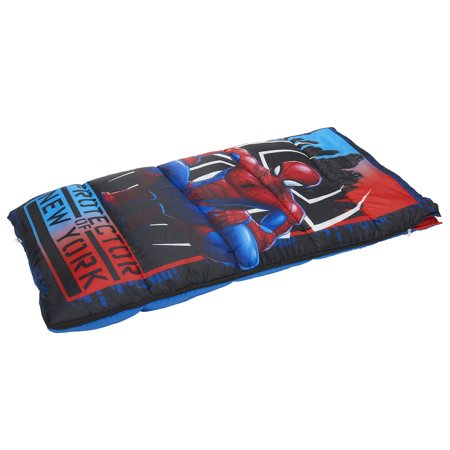 Kids Spiderman Sleeping Bag - Kids Cotton Sleeping Bag