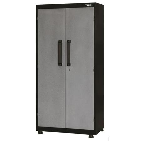 Hyper Tough 72 in. H x 36 in. W x 18 in. D Welded Steel Garage Cabinet ()