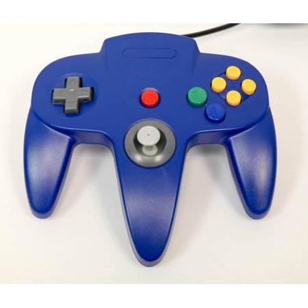 N64 USB Controller Blue For Window, Mac, and Linux by Mars Devices