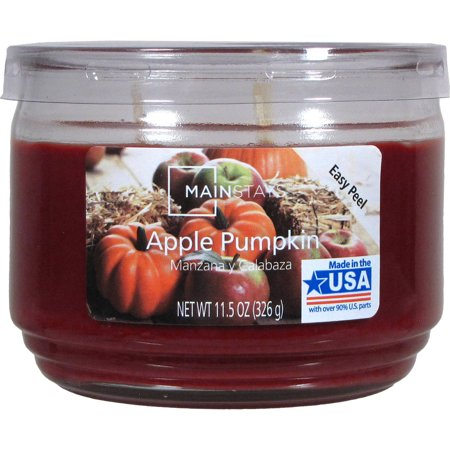 Mainstays 11.5 oz Candle, Apple Pumpkin