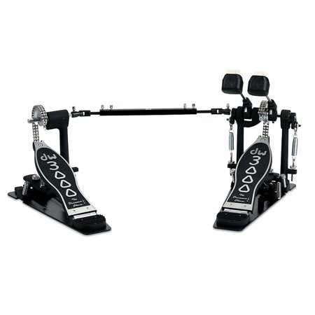 DW 3000 Series Double Bass Drum - City Standard Track Pedals