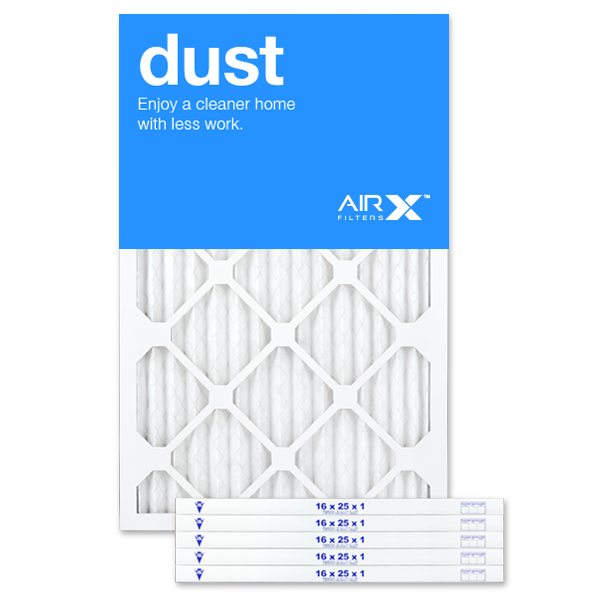 Made in the USA Box of 6 ODOR-202501-6 AIRx ODOR 20x25x1 MERV 8 Carbon Pleated Air Filter