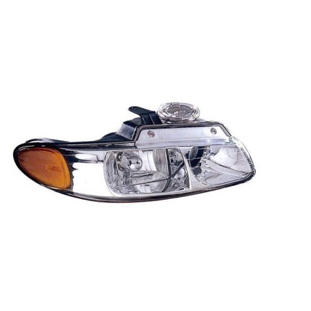 Go-Parts » 1998 - 1999 Chrysler Town & Country Front Headlight Headlamp Assembly Front Housing / Lens / Cover - Right (Passenger) Side 4857150AC CH2503114 Replacement For Chrysler Town &