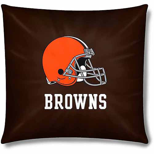 """NFL Cleveland Browns Official 15"""" Toss Pillow by The Northwest Company"""
