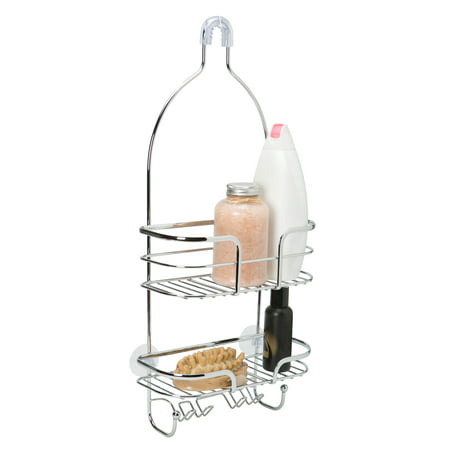 Bath Bliss Holland Shower Caddy in Chrome