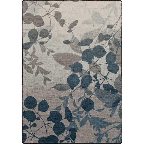 Milliken Mix and Mingle Indigo Nature's Silhouette Rug