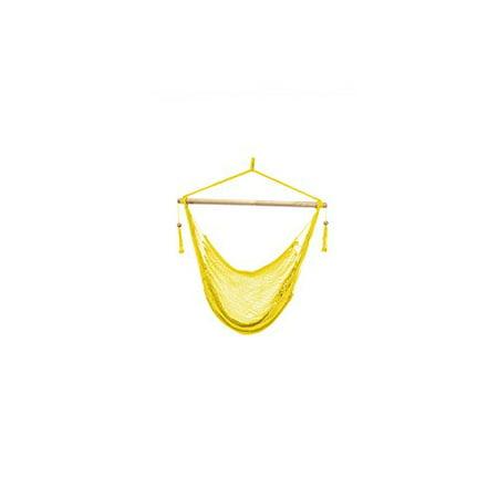 Patio Bliss Island Rope Chair - Yellow - Yellow