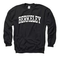 University Of California Berkeley Arch Mens Crew Sweatshirt- Black