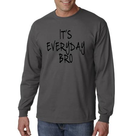 765 - Unisex Long-Sleeve T-Shirt It's Everyday Bro Jake Paul Team 10 4XL (Jake Paul Like A God Church Shirt)