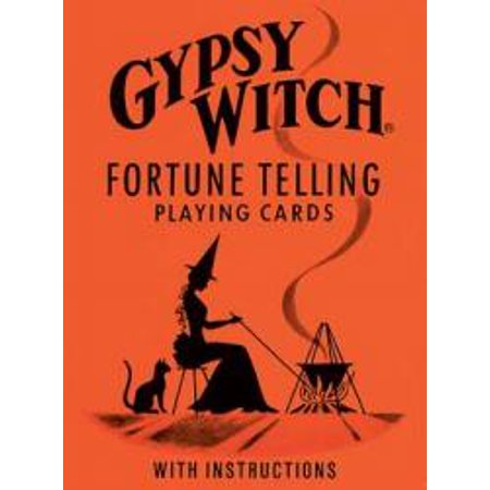 Gypsy Witch Fortune Cards - Mysterious Fortune Cards
