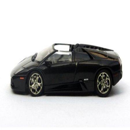 1 43 Lamborghini Murcielago Concept Car Barchetta Metallic Black