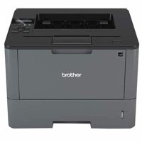 Brother Business Laser with Duplex Printer, Silver